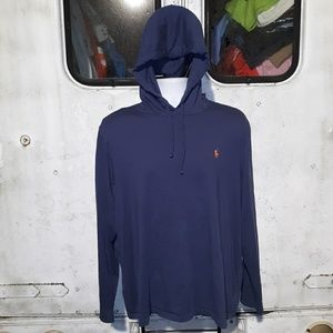 Ralph Lauren Polo long sleeve hooded shirt size XL